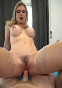 Step Son a Helping Hand And Pussy
