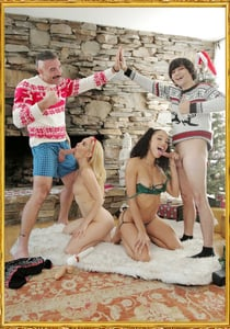 A FAMILY SWAP CHRISTMAS Porn Video Watch in HD Print